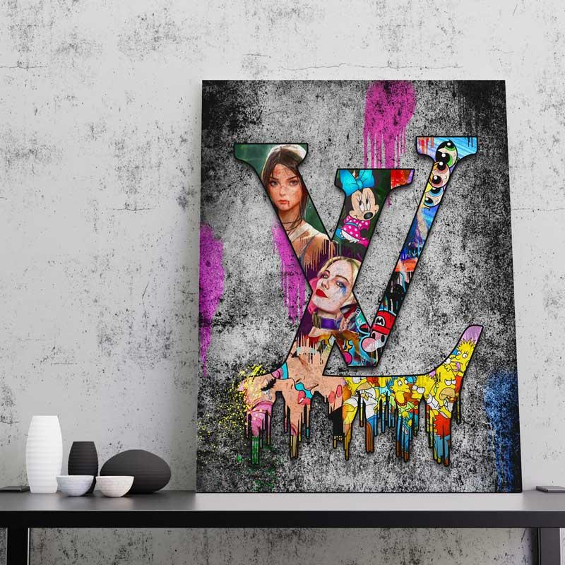 tableau LV pop art
