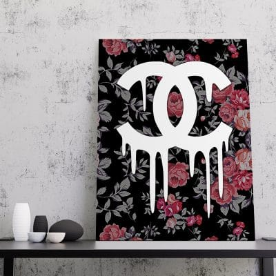 tableau toile cadre coco chanel pop art tableau coco pop art toile coco cadre chanel pop art street art poster coco chanel 02