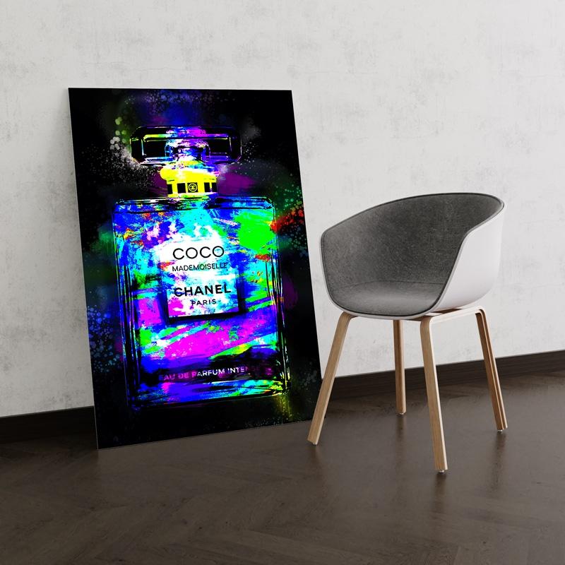 tableau coco pop chanel luxe