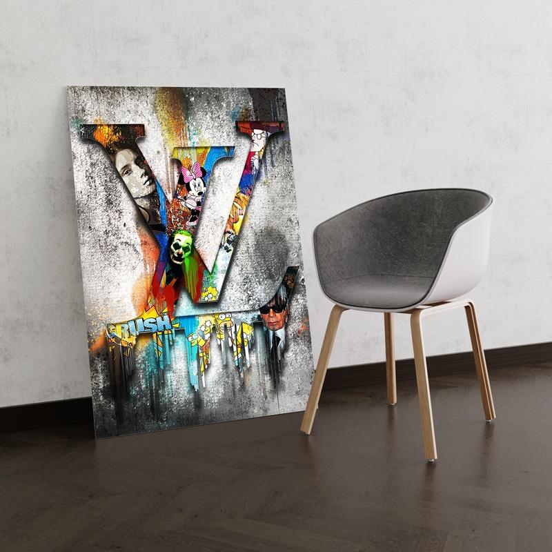 tableau luxe pop art lv louis vuitton