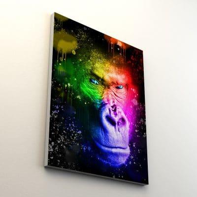 Tableau gorille couleur 3
