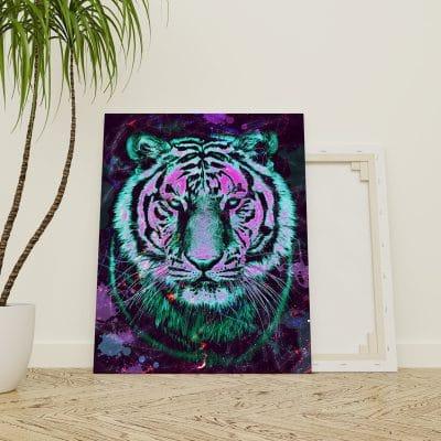 tableau tigre street art