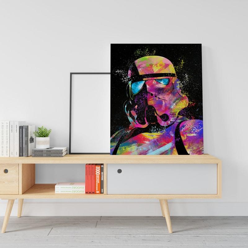 tableau Stormtrooper pop art starwars