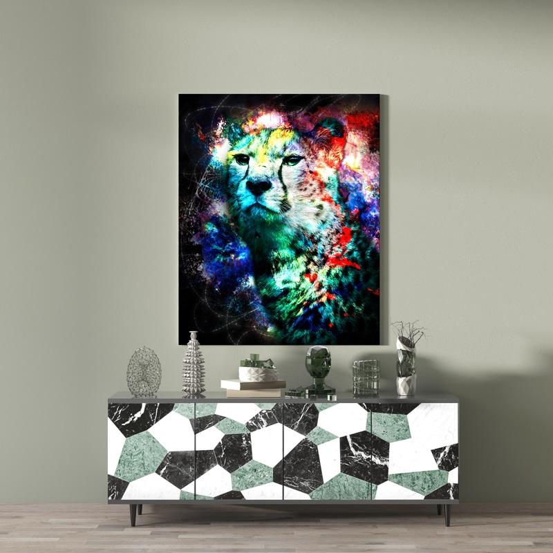 tableau cadre poster guepard