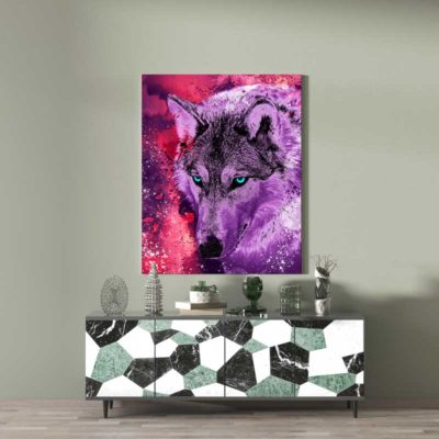 decoration loup