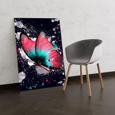 papillon decoration deco