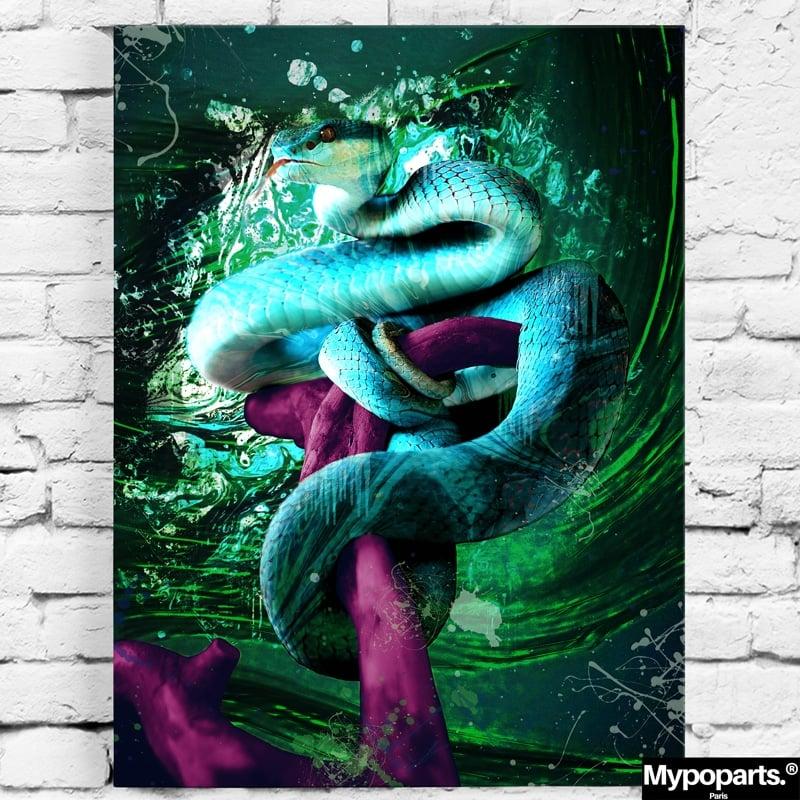 tableau serpent