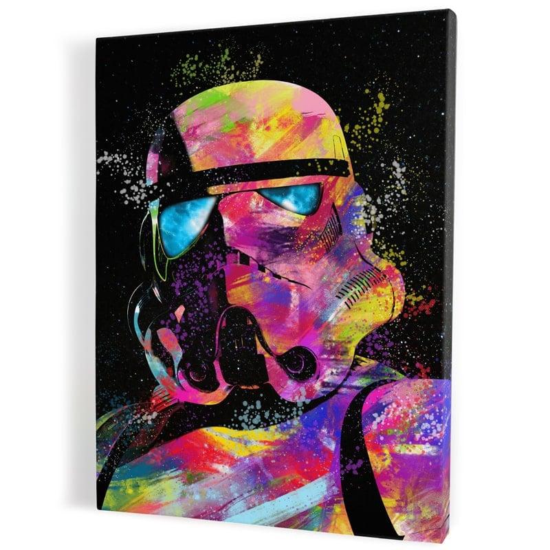 tableau-stormtrooper-starwars-geek-style-popart-coloré
