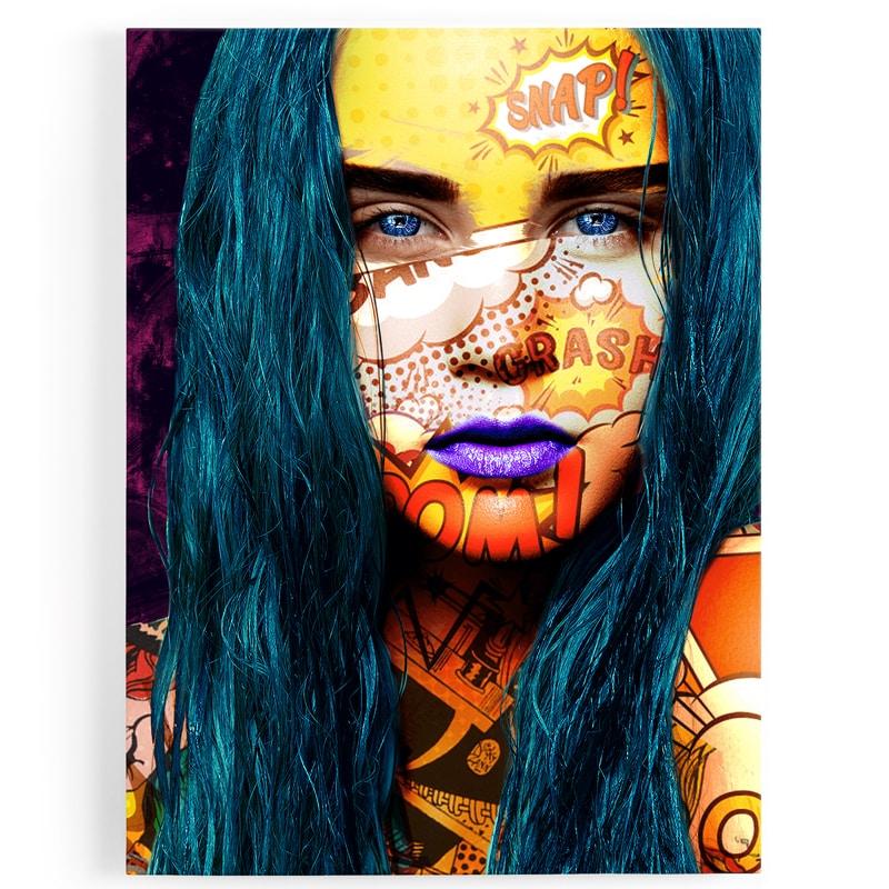 tableau-toile-femme-popart-sexy-art-digitale
