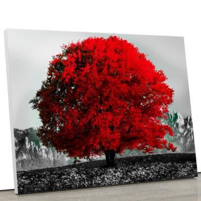 tableau-arbre-de-vie-tableau-arbre-rouge-decoration-murale-nature-noir-et-blanc-et-rouge-toile-deco-poster