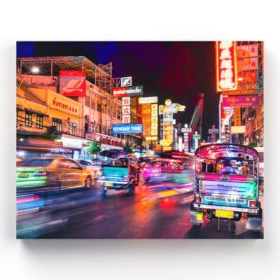 tableau bangkok thailande
