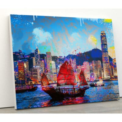 toile hong kong ou tableau sur toile