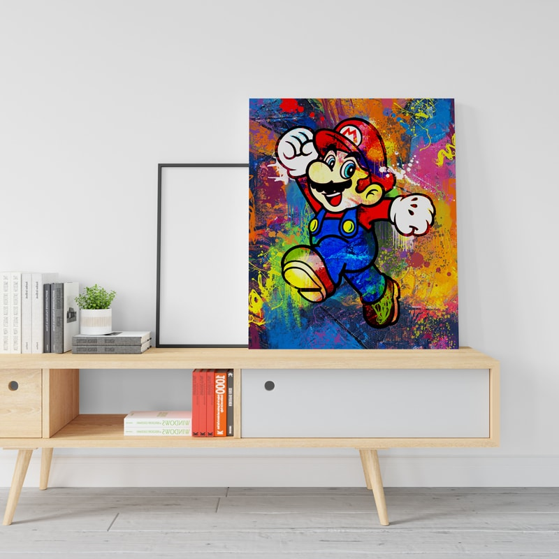 mario decoration geek cadeau geek mario