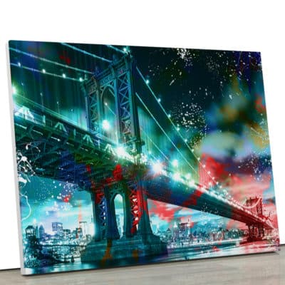 tableau-new-york-manhattan-pont-decoration-murale-usa