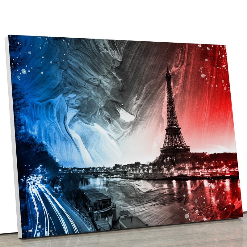 tableau-paris-seine-tour-eiffel-pop-art-street-art-coloré-decoration-murale-bleu-blanc-rouge-france-deco