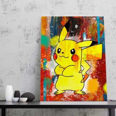 tableau pikachu pokemon tableau geek