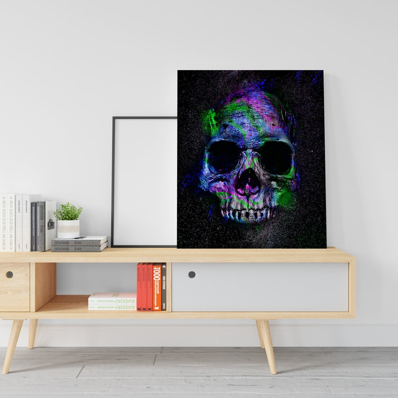 tableau skull