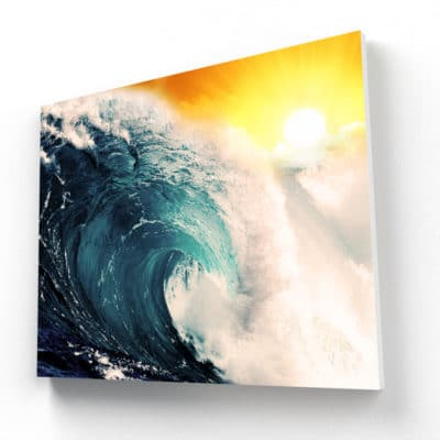 tableau ocean vague mer