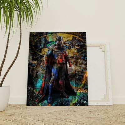 tableau batman geek pop art