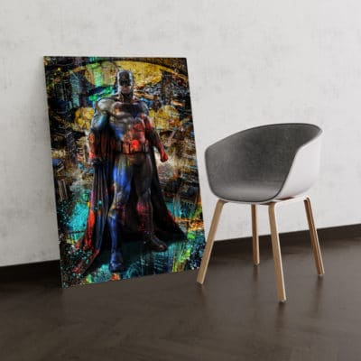 tableau batman pop art streetart art geek