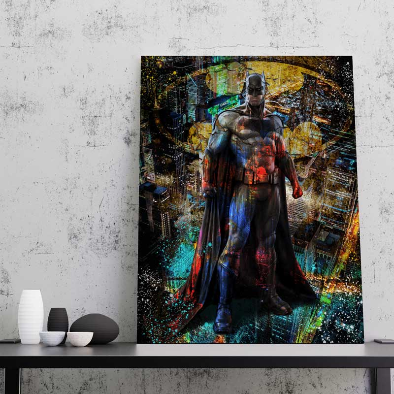 tableau batman pop art